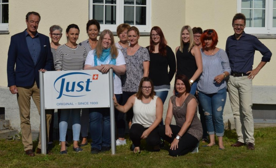 JUST Innendienst-Team